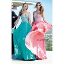 wedding photo - Diamond White Alyce Paris 6409 - Chiffon Dress - Customize Your Prom Dress