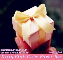 wedding photo - Beter Gifts® Pink Wedding Candy Box Bridal Tea Party Decorations BETER-TH000