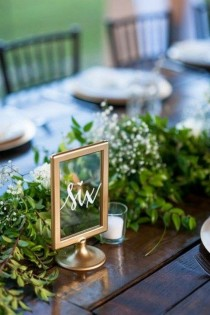 wedding photo - Display Your Wedding Table Numbers