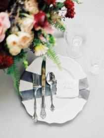 wedding photo - Tablescape With The Prettiest Garden Details