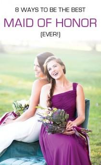 wedding photo - Maid Of Honor FAQ