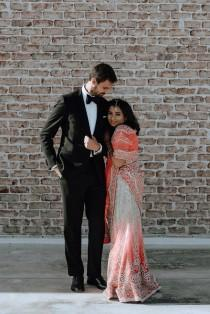 wedding photo - Worlds Collide: A Beautiful Polish and Indian Wedding