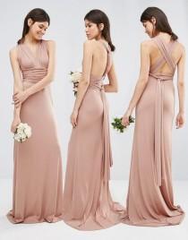 wedding photo - TFNC Tall Wedding Multiway Fishtail Maxi Dress