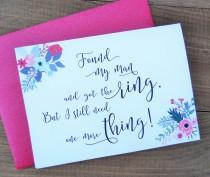 wedding photo - Will You Be My BRIDESMAID Card, Bridesmaid Card Funny, Will You Be My Bridesmaid, Bridesmaid Proposal, Bridesmaid Gift, Bridesmaid Box
