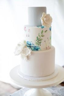 wedding photo - Hand-Painted Spring Floral