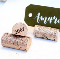 wedding photo - Champagne Gold Place Card Holder, Holiday Table Decorations, Wine Tasting Party, Wedding Name Card Holders, Wine Themed Gifts, Wine Theme