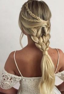 wedding photo - Heidi Marie Garrett Wedding Hairstyle Inspiration