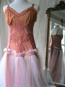 wedding photo - Boho Wedding Dress, Wine Country Wedding Dress, Open Back Wedding Dress, Bridal Gown Rose, Boho Wedding Blush, Rustic Wedding