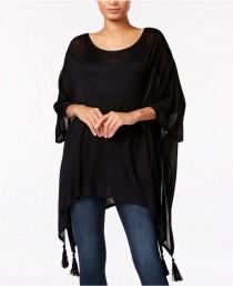 wedding photo - Steve Madden On-the-Go Tassel Poncho