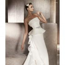 wedding photo - Pronovias Puerto Bridal Gown (2012) (PR10_PuertoBG) - Crazy Sale Formal Dresses