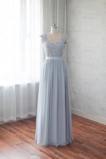 cfb52c4655db9 Long prom dress, chiffon bridesmaid dress, formal dress,evening dress