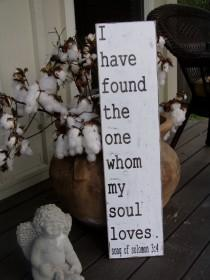 wedding photo - I have found the one whom my soul loves-Song of Solomon 3:4-Wedding-Anniversary-Vintage-Love