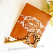 wedding photo - Beter Gifts® Golden 50th Wedding Anniversary Antique Wine Opener BETER-HH030