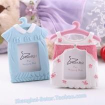 wedding photo - Beter Gifts®藍衣架小相框SZ044活動禮品 滿月酒慶生兒童生寶寶生日慶生佈置