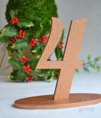 wedding photo - Freestanding numbers Set Table Numbers 1-10 Numerator Wedding table decoration Table Serving Guest Table Anniversairy Wood table set of 10