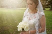 wedding photo - Lace Wedding Veil