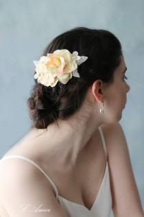 wedding photo - Charming Fall Forest Rustic Wedding Bridal Hair Flower Comb  Accessories,Fall wedding