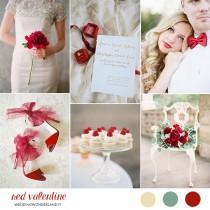 wedding photo - Inspiration board: Matrimonio in rosso a San Valentino