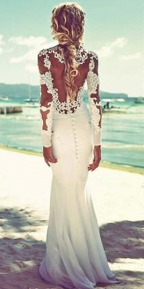 wedding photo - 24 Beach Wedding Dresses Perfect For Destination Weddings