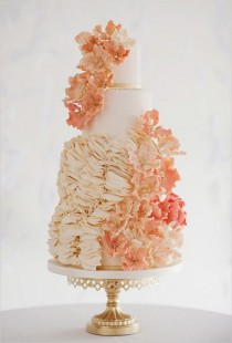 wedding photo - The Most Beautiful Wedding Cakes Of All Time