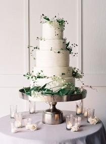 wedding photo - Wedding Cake And Dessert Inspiration - Once Wed