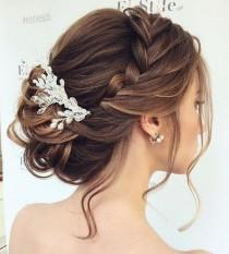 wedding photo - Beautiful Braided Updos Wedding Hairstyle To Inspire You