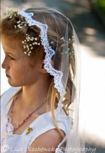 wedding photo - First Communion Veil