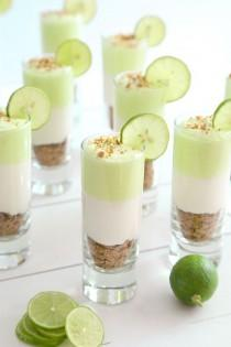 wedding photo - Light Key Lime Cheesecake Shots