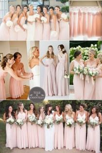 wedding photo - Top 10 Colors For Spring/Summer Bridesmaid Dresses 2015