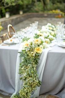 wedding photo - Wedding Wreath Ideas with Gardenia for Flower Girls