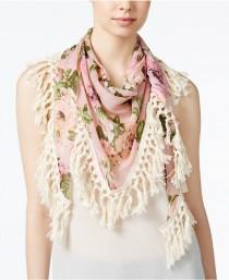 wedding photo - Steve Madden Keep Blooming Triangle Scarf