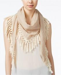 wedding photo - Steve Madden Oversized Tassel Triangle Scarf