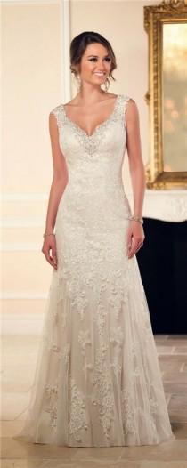 wedding photo - Essense Of Australia Stella York Wedding Dresses Fall 2015