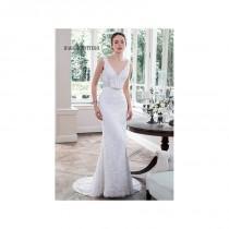 wedding photo - Vestido de novia de Maggie Sottero Modelo Pierce - 2016 Recta Pico Vestido - Tienda nupcial con estilo del cordón