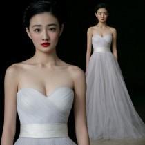 wedding photo - Elegant Wedding Dress Sweetheart Tulle Pleat Off The Shoulder Wedding Dress Prom Dress