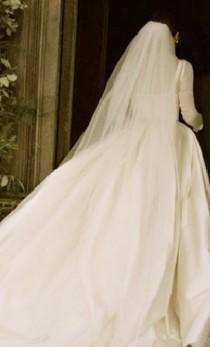 wedding photo - CLASSIC Cathedral, Royal, or Regal Illusion Bridal Veil - Stephanie