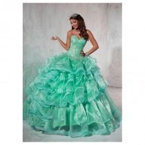 wedding photo - Chic Organza Sweetheart Neckline Floor-length Ball Gown Quinceanera Dress - overpinks.com