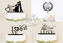 wedding photo - Cake Toppers,Party Decor,Wedding Cake Topper,Silhouette Cameo Files,SVG Cut File,Silhouette Cameo File,Handmade Wedding Decor,Party Supply