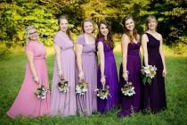 wedding photo - Infinity Dress - floor length  in lavander and purple color wrap dress +55colors