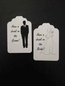 wedding photo - Wedding  Drink or Beverage Ticket - Wedding Reception