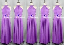 wedding photo - Lilac Floor Length Long Maxi Infinity Dress Convertible Formal Multiway Wrap Dress Bridesmaid Dress Party dress Evening Dress