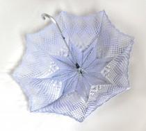 wedding photo - Lavender Bridesmaid Wedding Umbrella- Victorian parasol- Victorian Umbrella- Bridal umbrella- Lace Umbrella- Lavender Umbrella- Wedding Prop