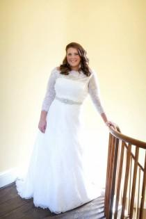 wedding photo - Lis Simon, Faith, Size 18 Wedding Dress