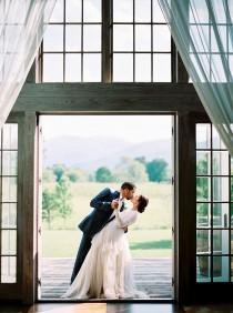 wedding photo - Summer Greenery Vineyard Wedding Inspiration