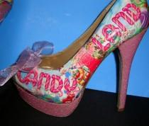 wedding photo - Cool Custom Shoe Designs  Our Shoe Business