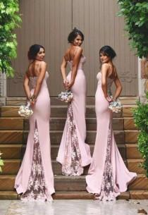 wedding photo - Pink Mermaid Dress