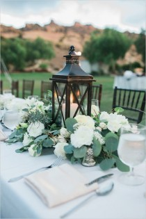 wedding photo - Summer Wedding Centerpieces