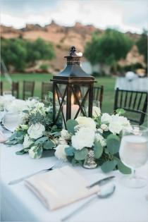 wedding photo - Summer Wedding Centerpieces