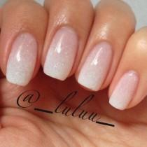 wedding photo - French Ombre Nail