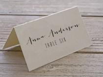 wedding photo - Customised Printable Placecards - Escort Cards - Wedding Cards
